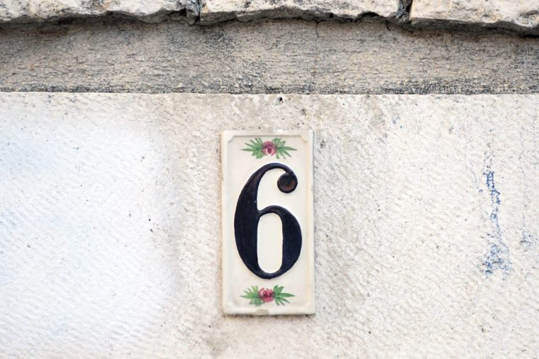 house number six