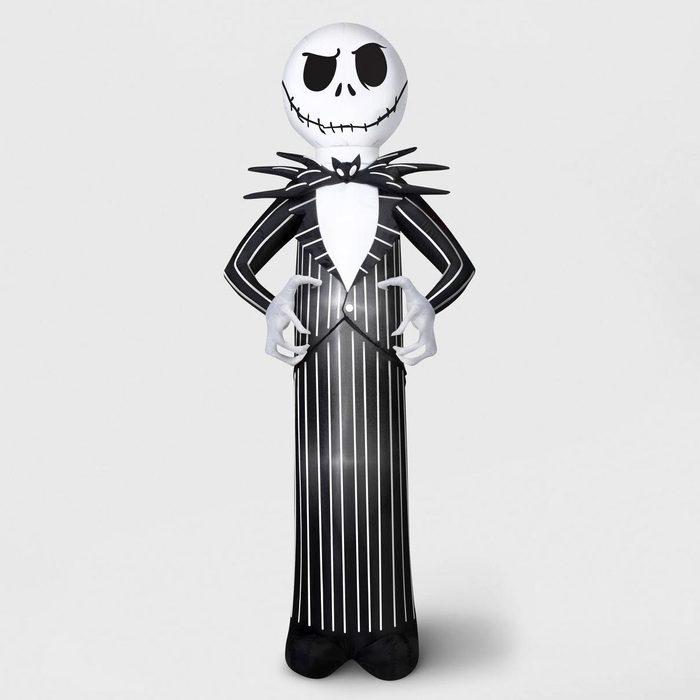 nightmare before christmas xmas jack skellington inflatable target spooky halloween decor decorations