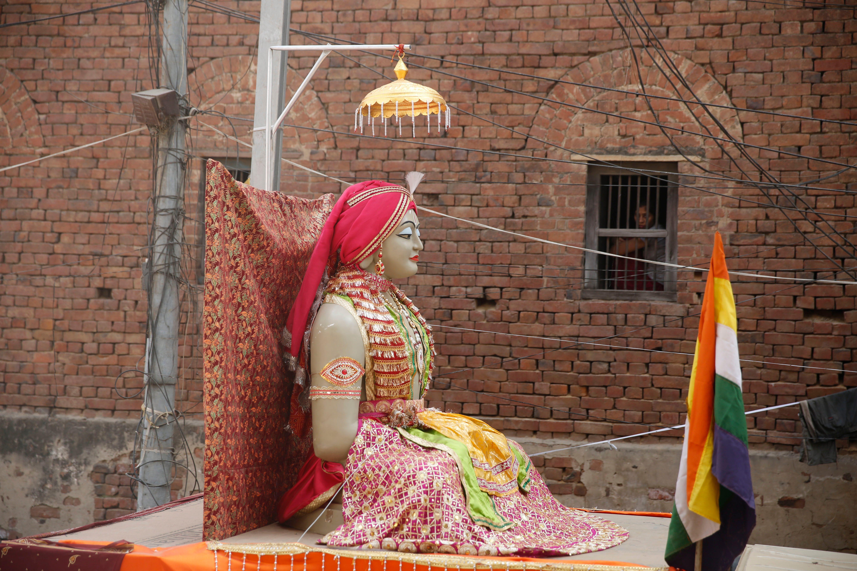 Jain Festival, Allahabad, India - 29 Mar 2018