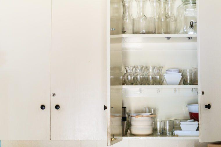 Vintage style kitchen cupboard.