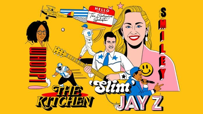 nicknames jay z smiley the kitchen whoopi