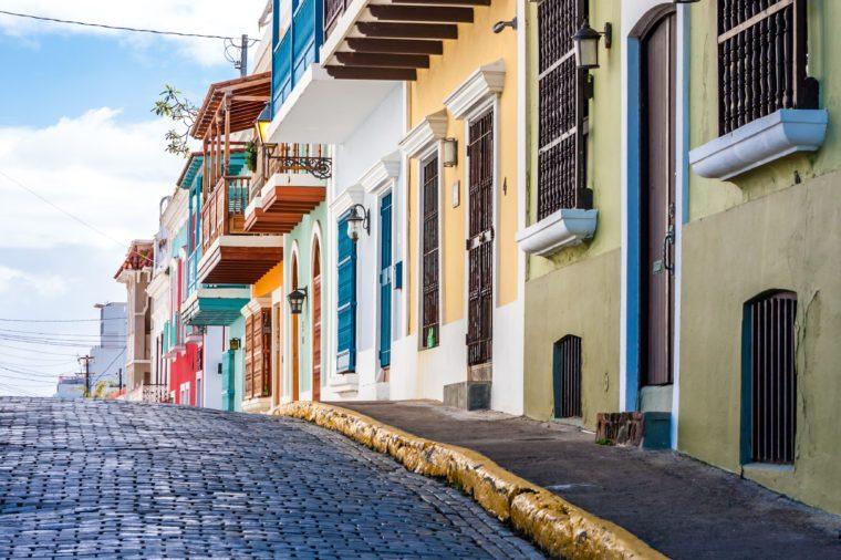 Old San Juan, Puerto Rico, United States.