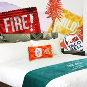 What It's Really Like to Stay at the Taco Bell Hotel