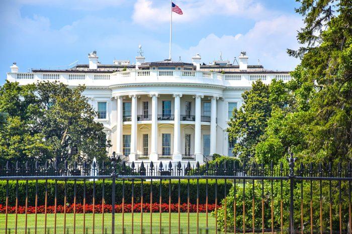 White house lawn