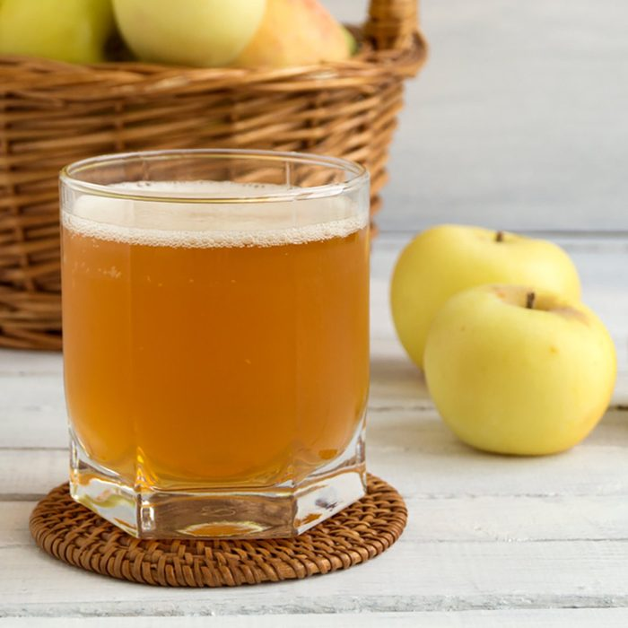 Apple cider. summer refreshing drink