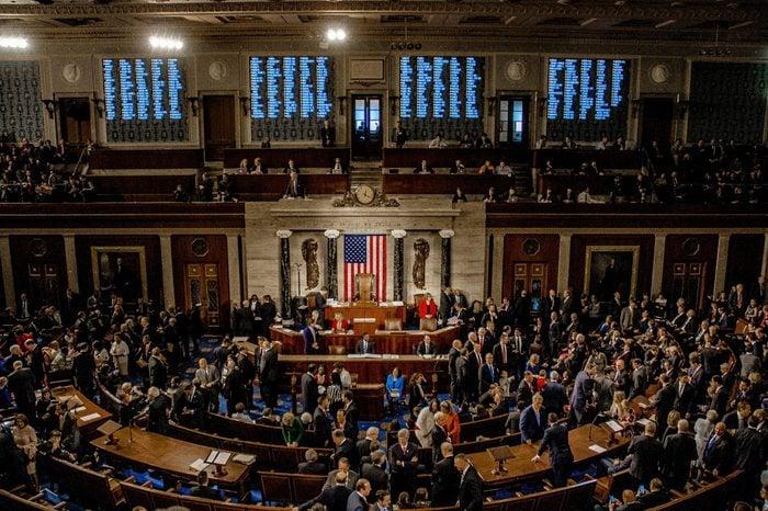 US Senate Floor
