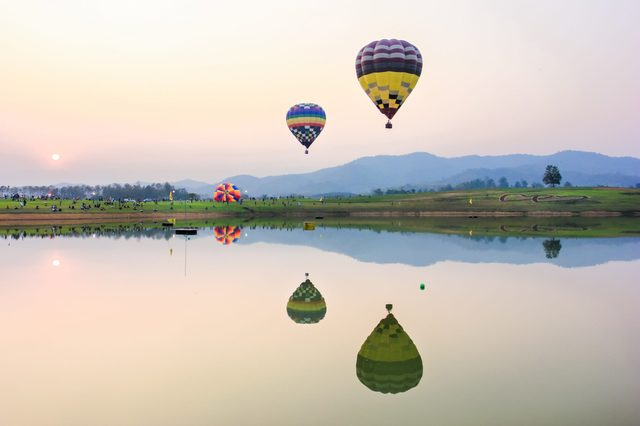 Balloons Nature Parks