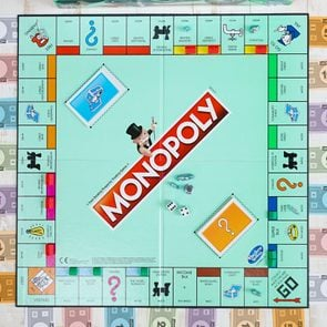 monopoly game overhead