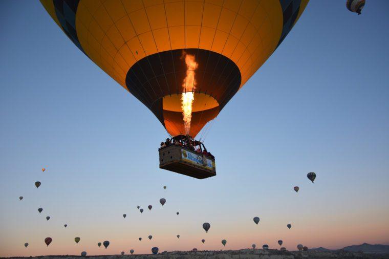 teplovzdušný balón