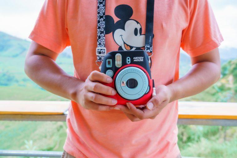 disney polaroid camera