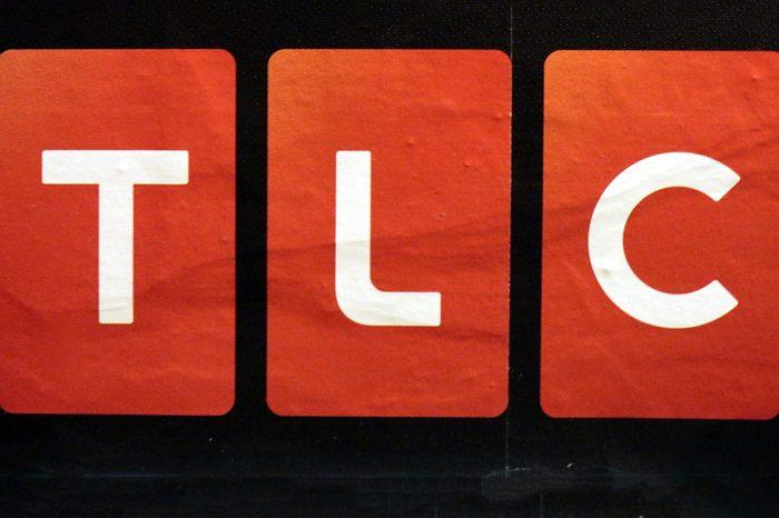 "CIRCA OCTOBER 2014 - BERLIN: the logo of the brand ""TLC"", Berlin."