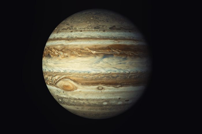Jupiter, Elements of this image furnished by NASA