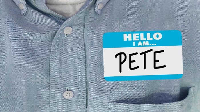 Hello Your Boss Words Name Tag Sticker Shirt