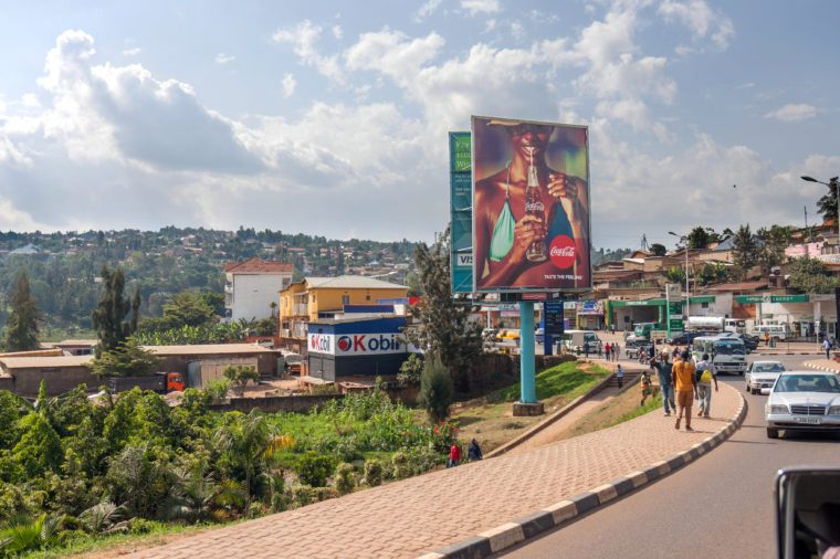 Residential area in Kigali,