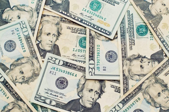 Heap of Dollars; Money Background