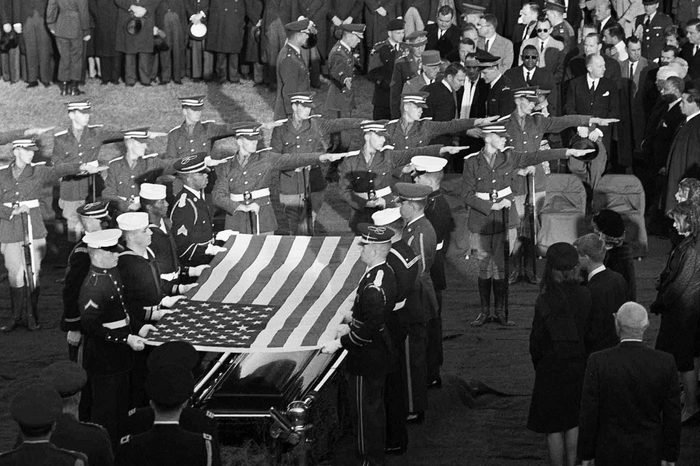 final salute to kennedy