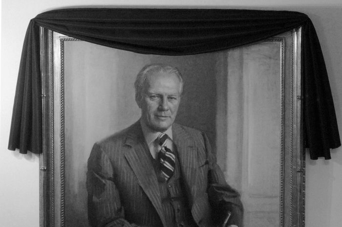 portrait of gerald ford