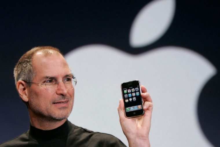 launch of the first iphone