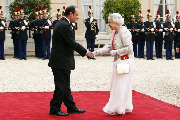 queen elizabeth hand shake