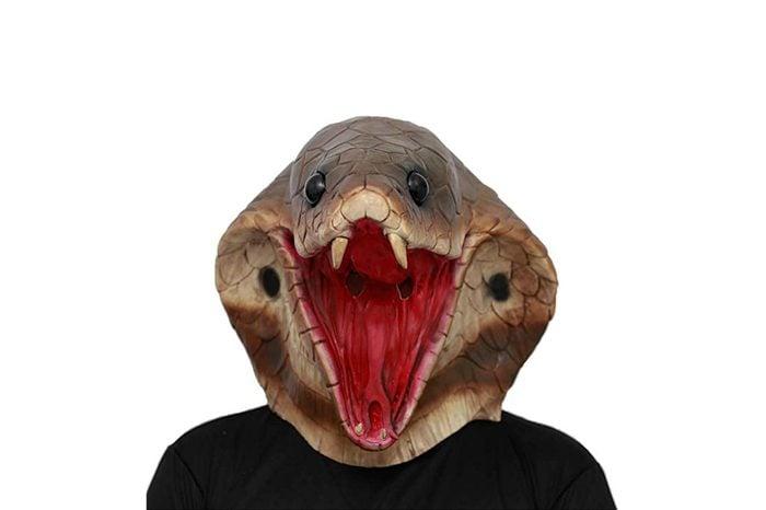 snake head mask