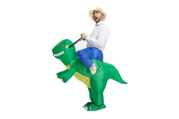 t rex cowboy costume