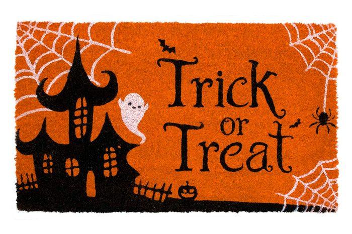 trick or treat welcome mat halloween decor
