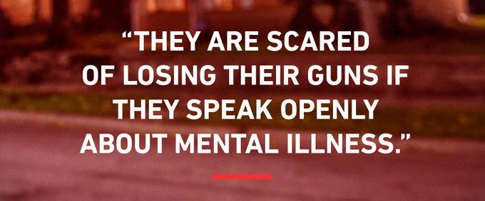 police badge guns suicide shootings mental health trauma