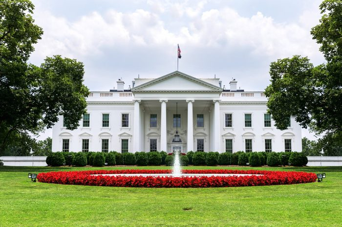 US White House front view 2