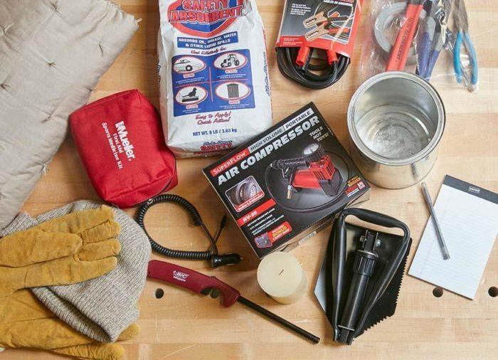 winter driving kit family handyman