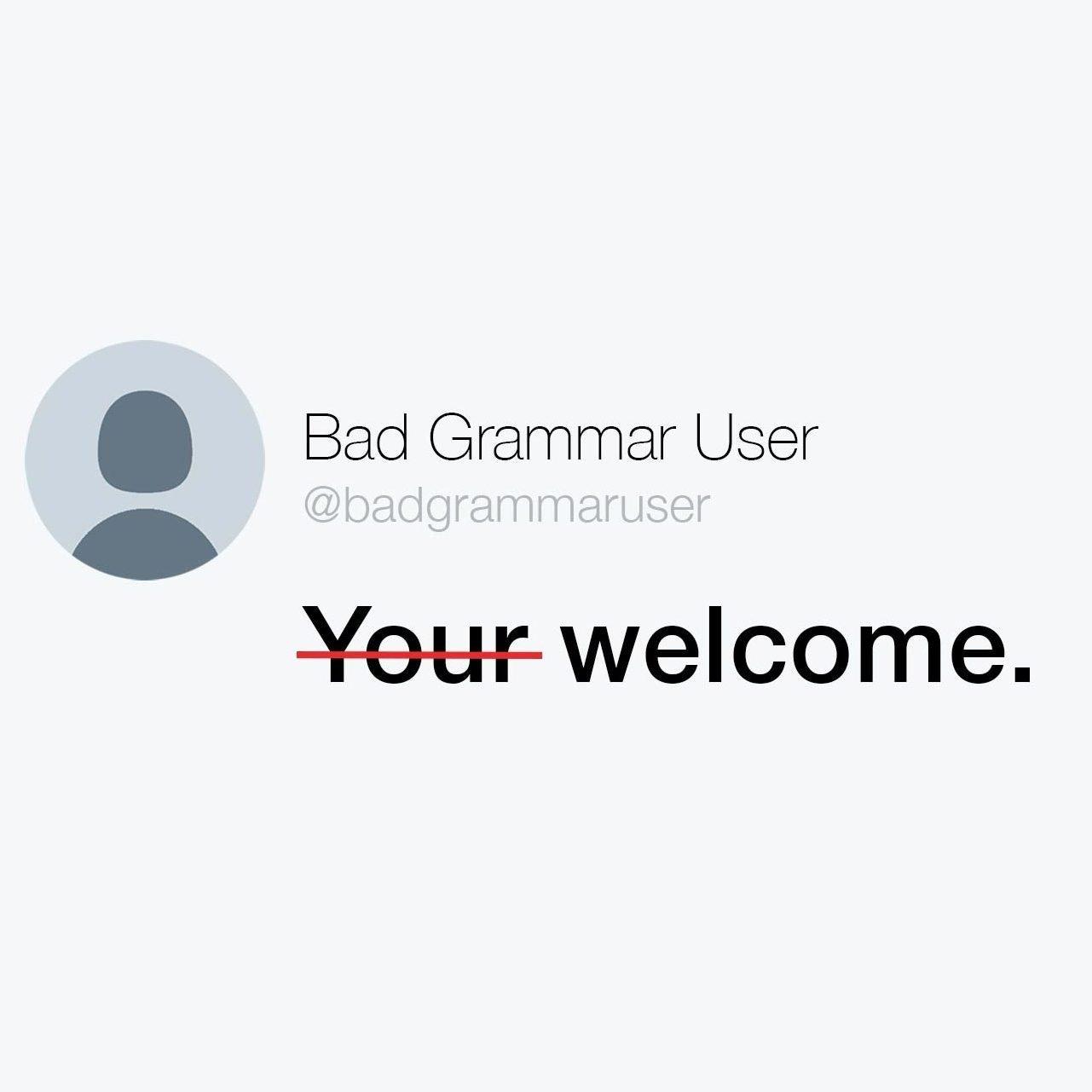 grammar tweet feature