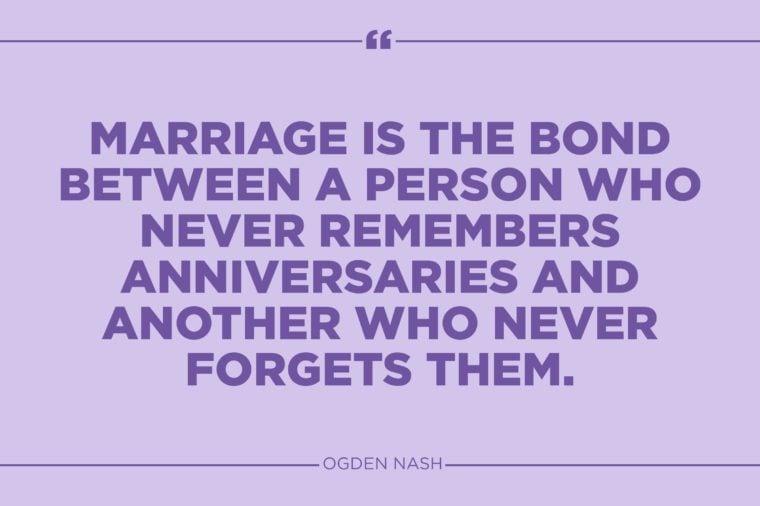 ogden nash marriage quote