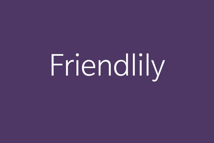 friendlily funny word Funny words to say