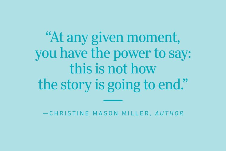 christine mason miller quote