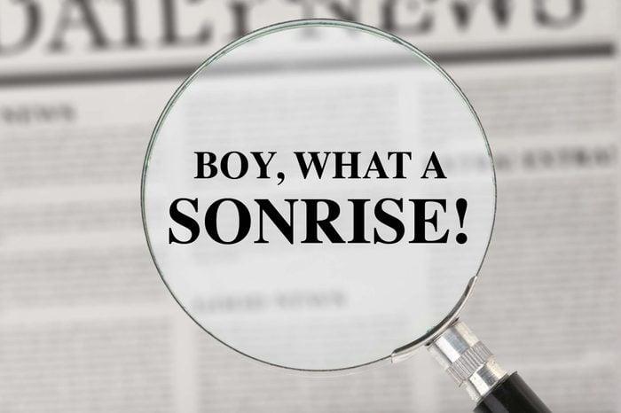 punny newspaper headline