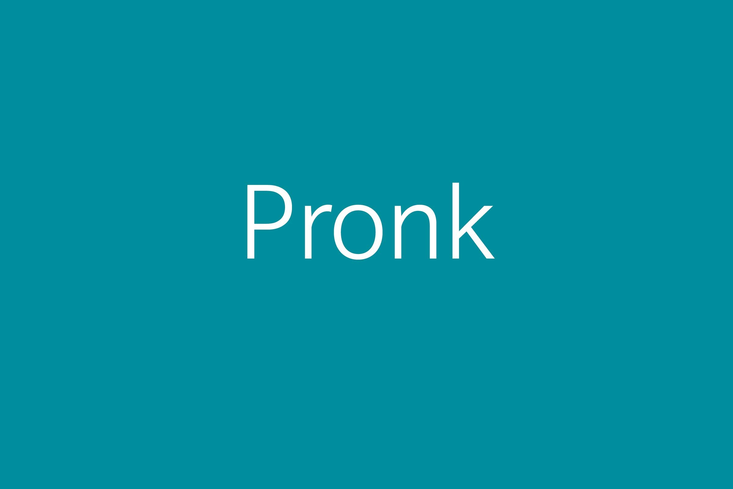 pronk funny word Funny words
