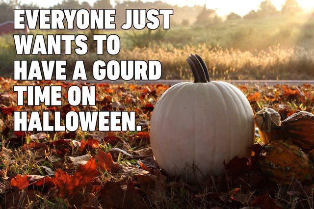 gourd halloween pun