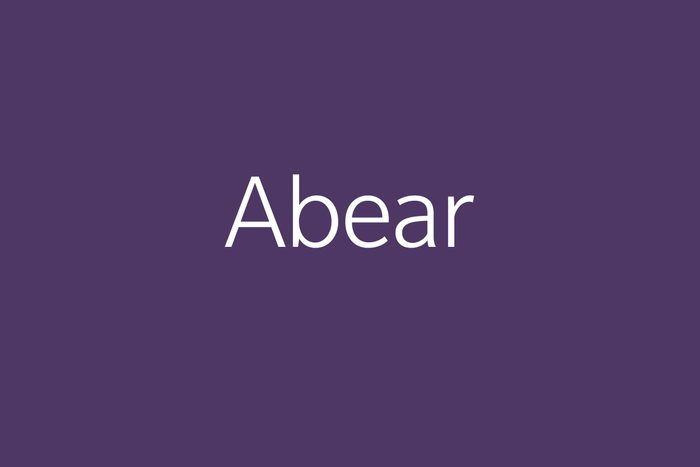 abear funny word Funny words