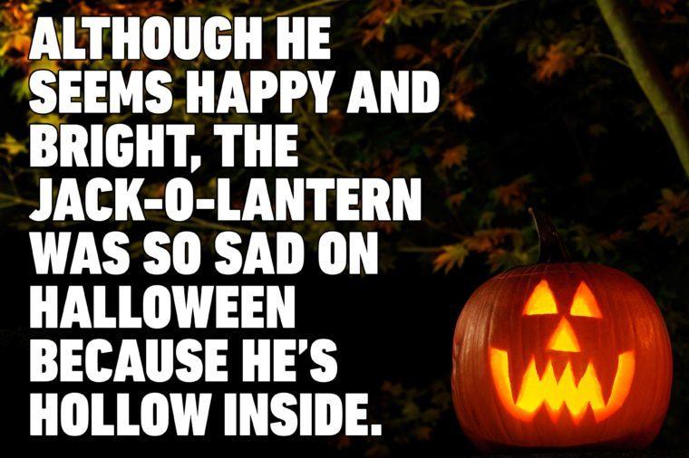 jack o lantern halloween pun