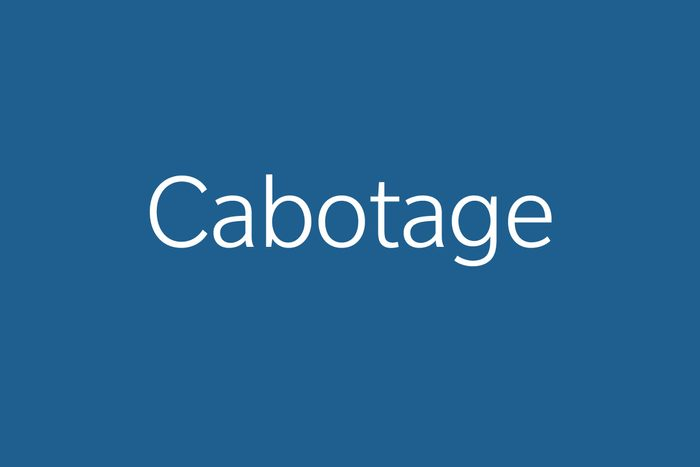cabotage funny word Funny words