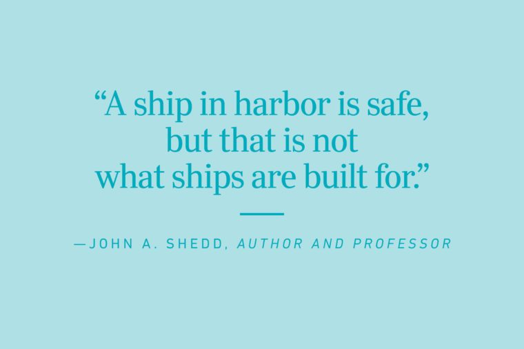 john a shedd quote