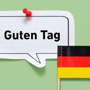 hello guten tag german germany