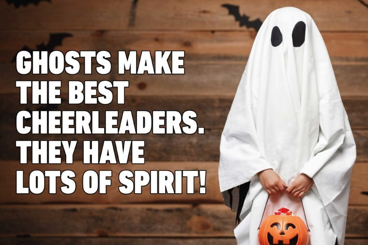 ghost halloween pun
