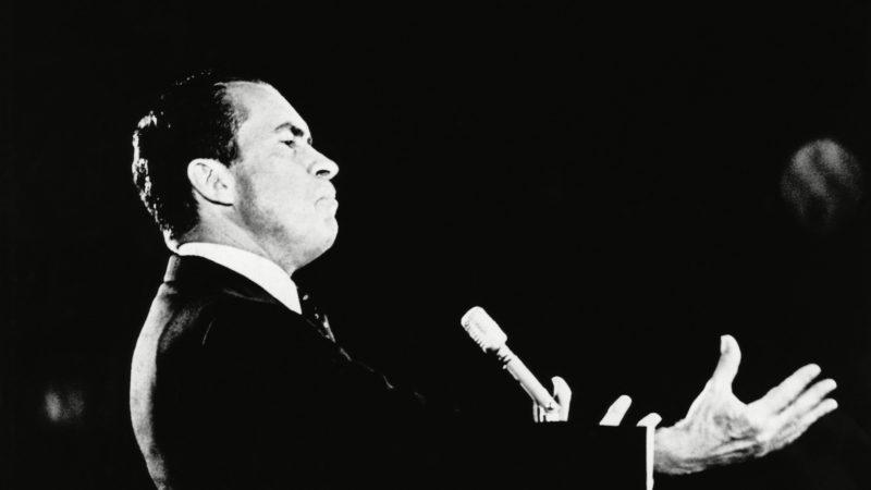 President nixon speech democracy
