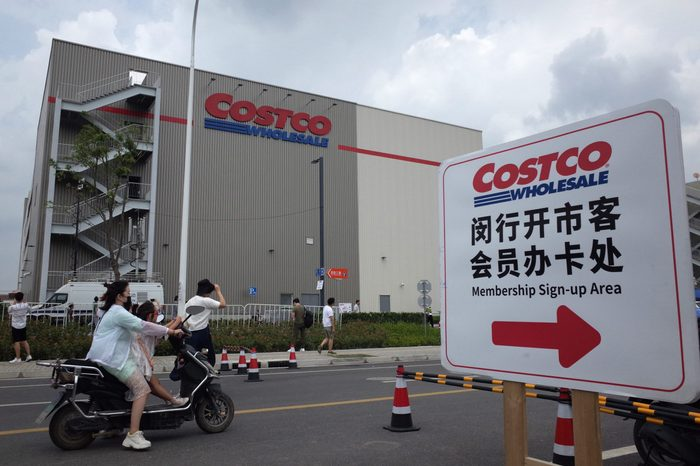 Costco opens first store in mainland China, Shanghai - 31 Aug 2019