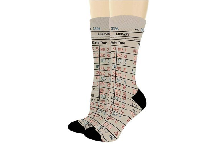10_Bookworm-Library-Card-Socks