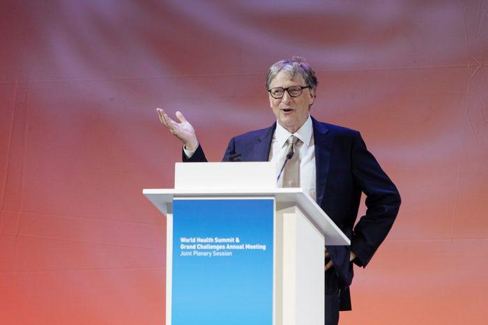 Bill Gates, 2018