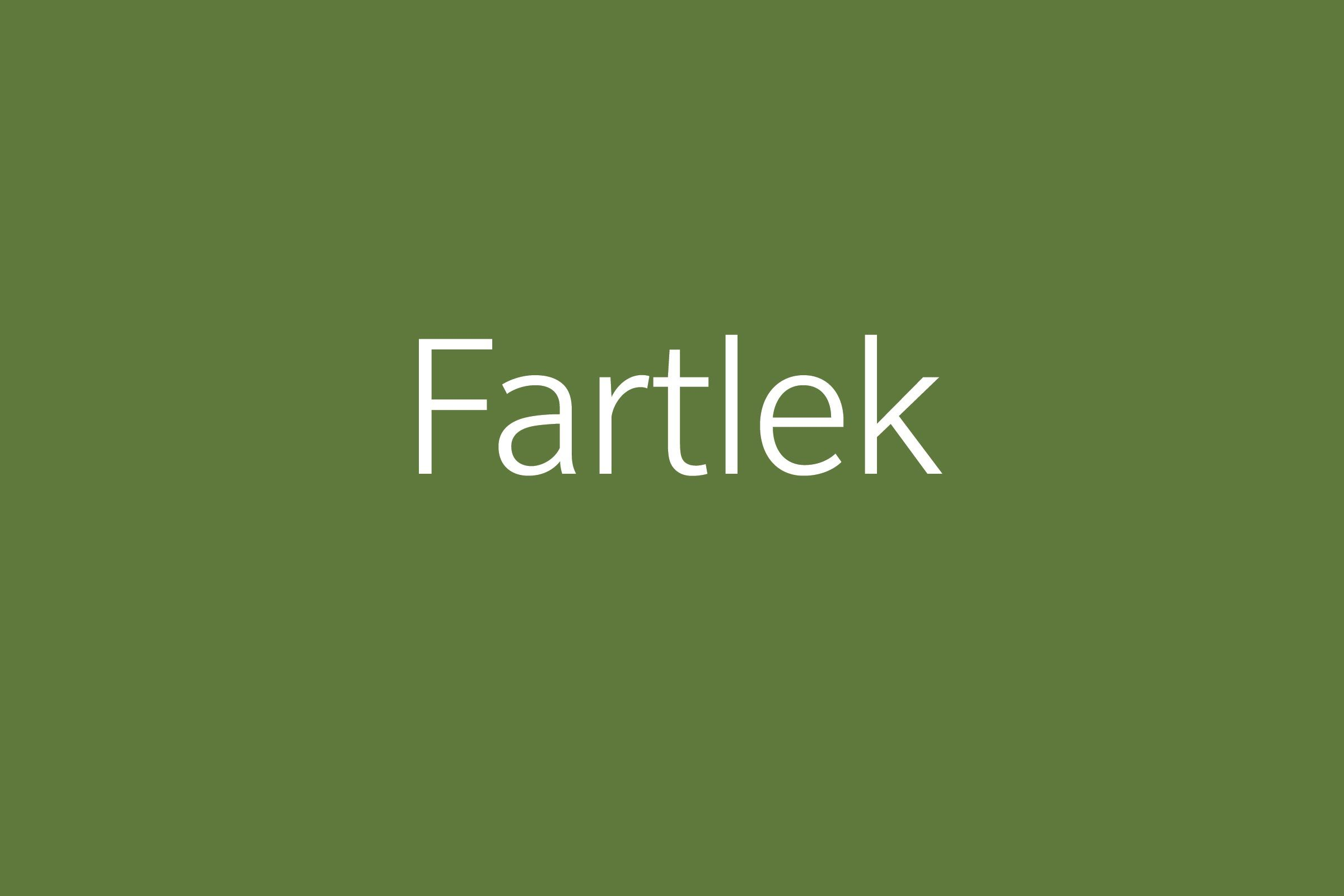 fartlek funny word Funny words