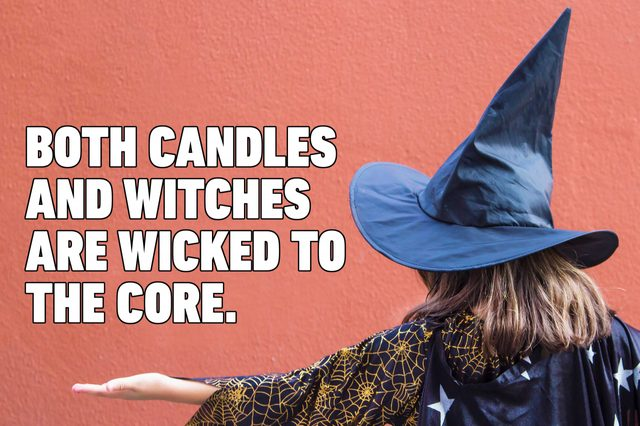 witch halloween pun