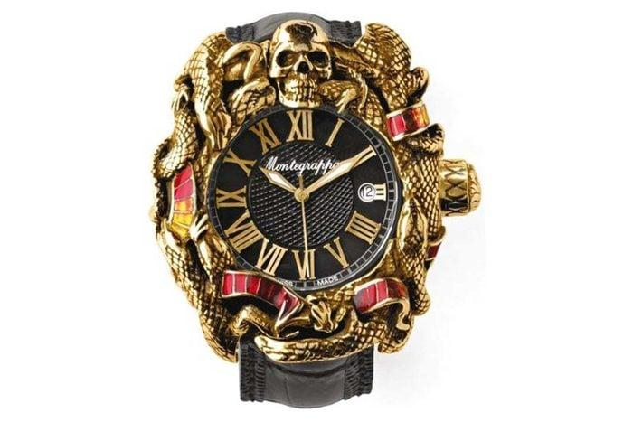 gaudy watch