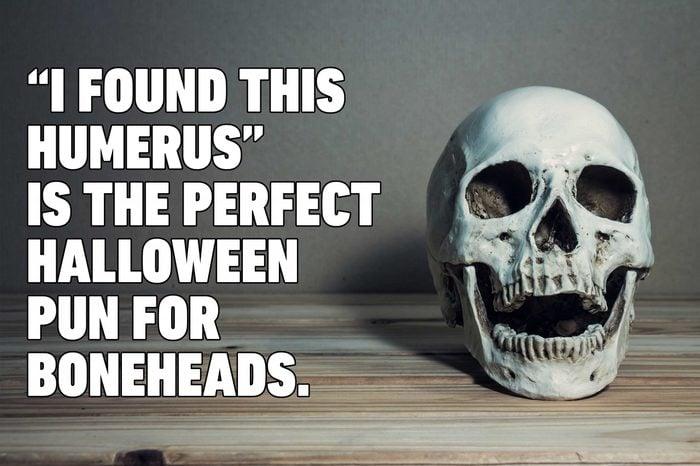 skeleton halloween pun